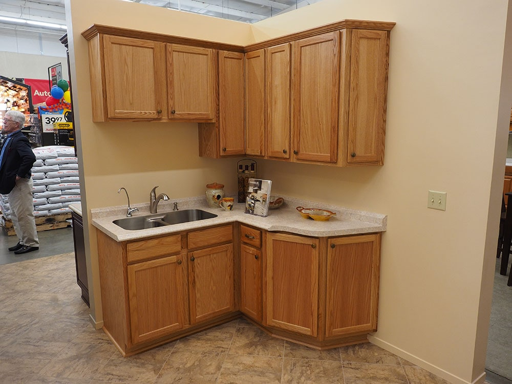 cabinet style in thomas home center showroom